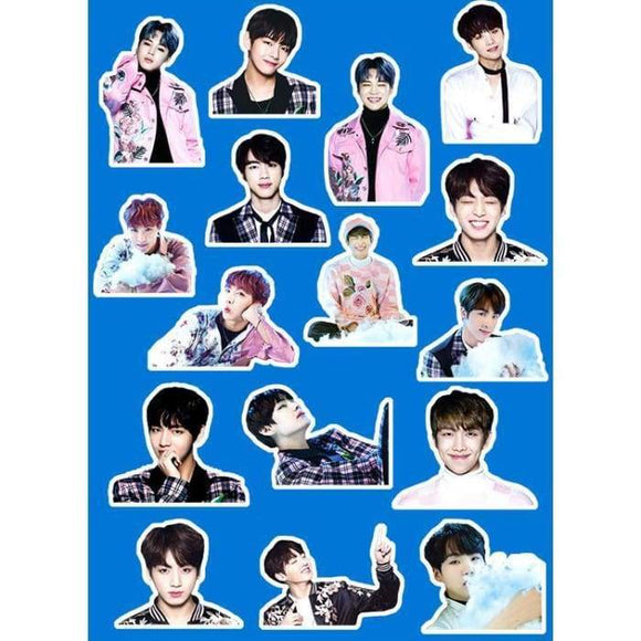 Bts The Wings Tour Stickers - Stickers