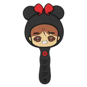 Bts V Cute Silicone Handle Mirror - Accessories
