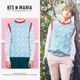 Bts V Freiknock Fashion Wollen Vest - S - Bangtan Fashion