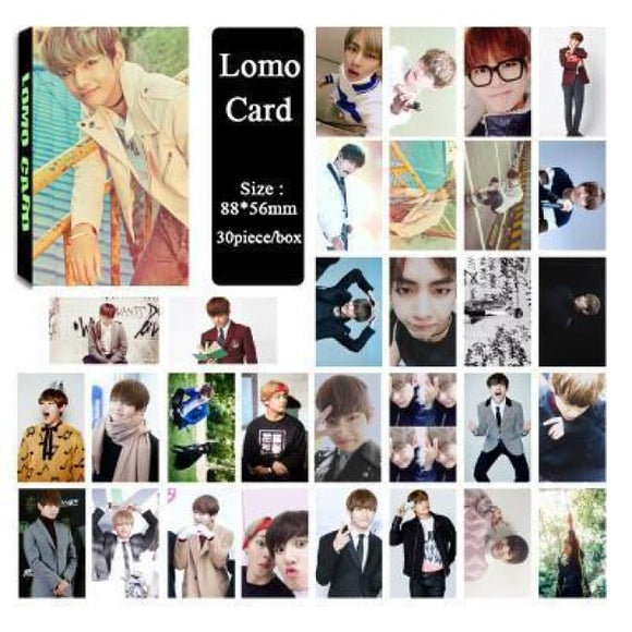 Bts V Special Lomo Card (30Pcs) - Accessories