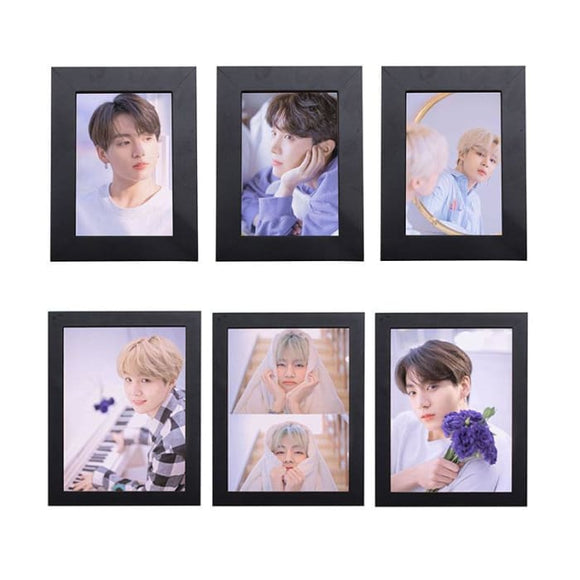 BTS White Day Boyfriend Material Concept Photo Frame - Poster