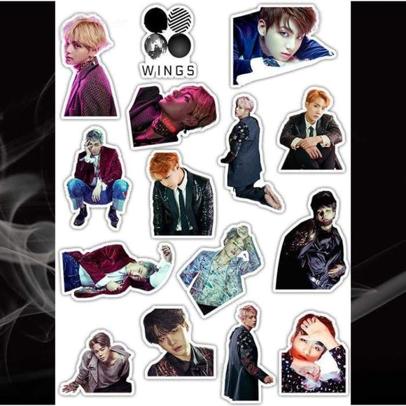 Bts Wings Series 2 Stickers - Stickers
