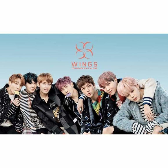 Bts Wings You Never Walk Alone 2 Poster (8 Posters) - Poster