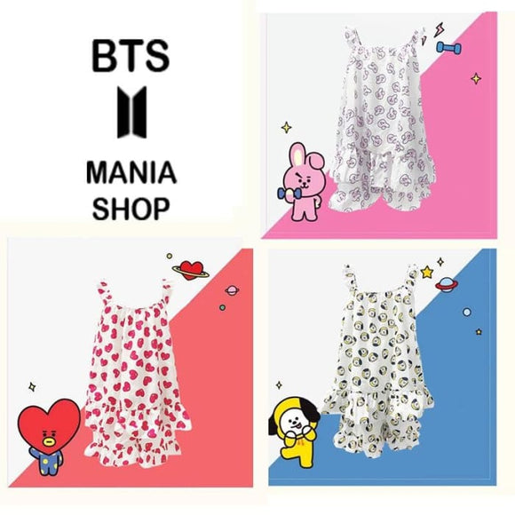 BTS X BT21 Sling Pajamas - BT21