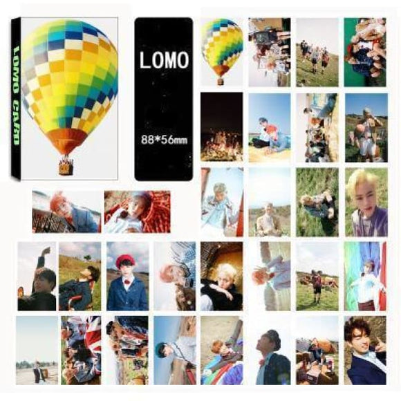 Bts Young Forever Lomo Card (30Pcs) - Accessories