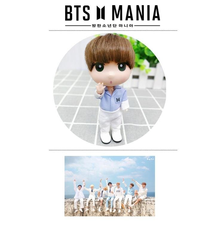 BTS Jeon Jungkook Cute Fanmade Doll