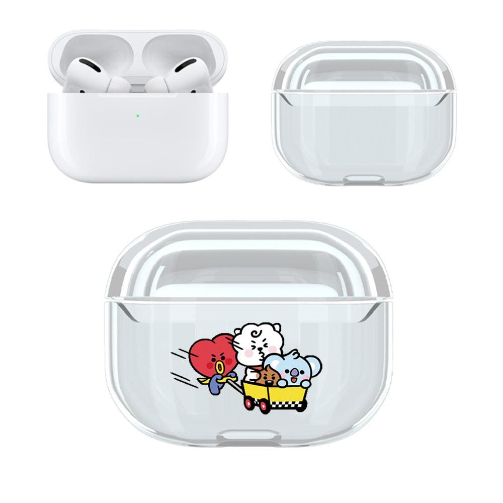 BTS BT21 Design Airpods 3 Transparent Cover