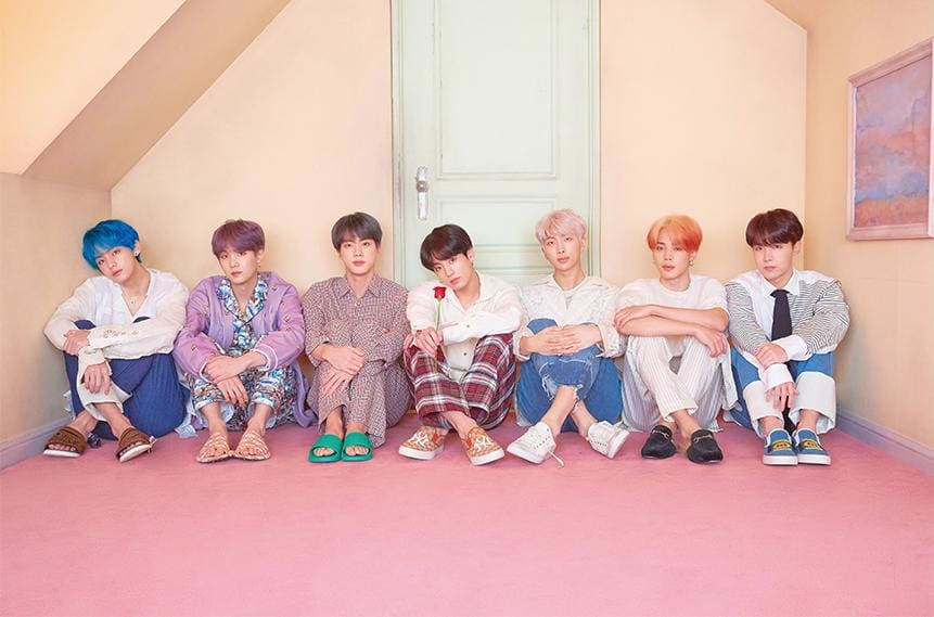 BTS Map Of The Soul: Persona Ver 3 Posters (8 Posters)