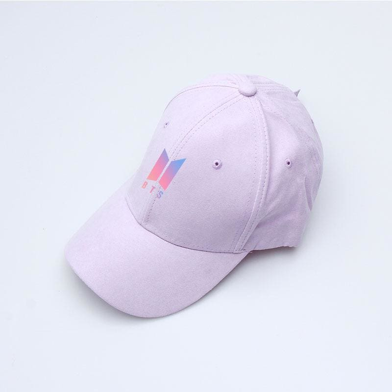a close up of a pink hat