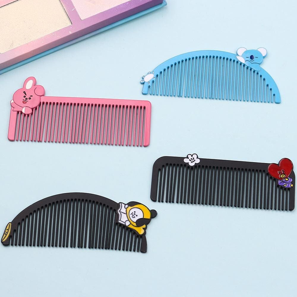 a comb on a table