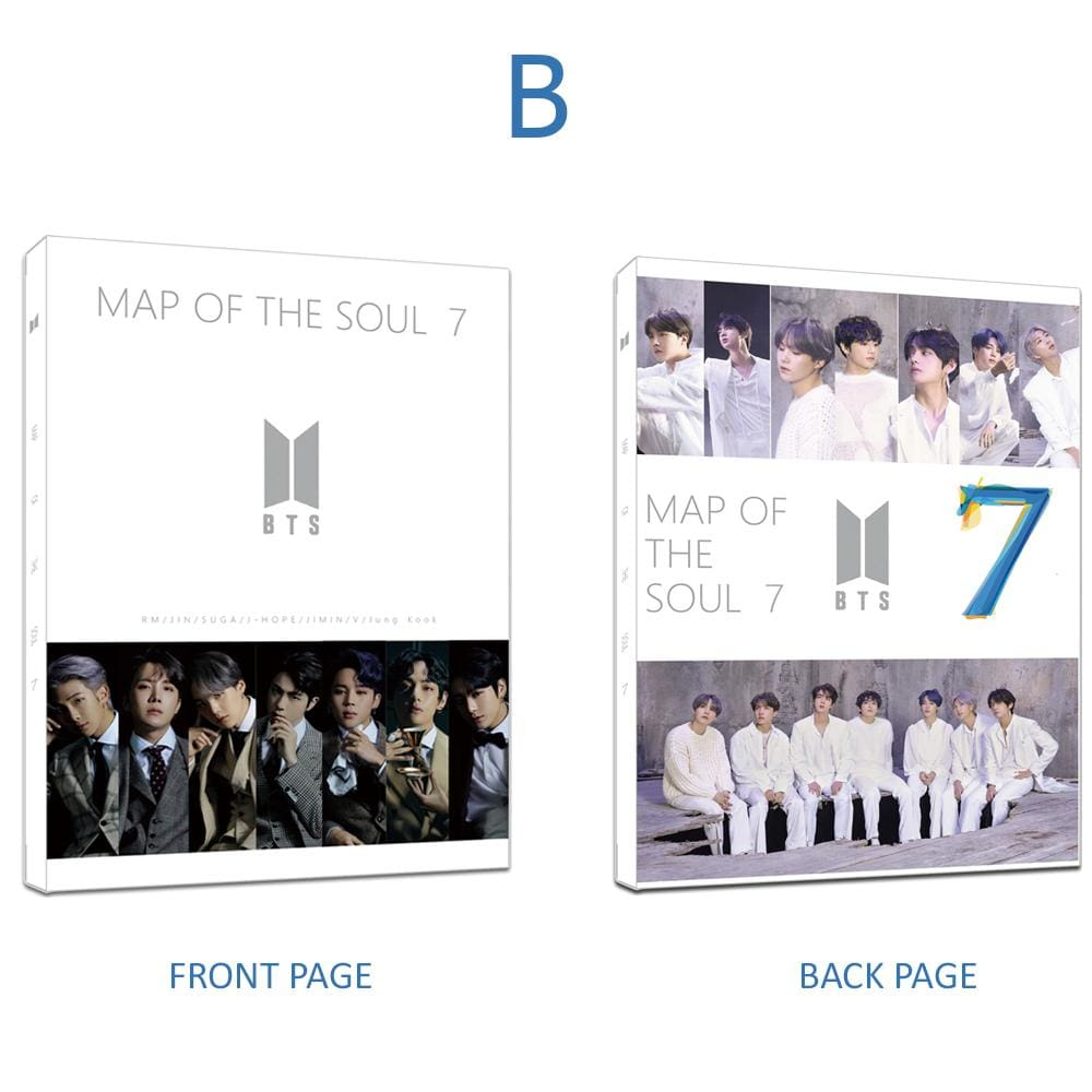 BTS MAP OF THE SOUL 7 ARMY BOX