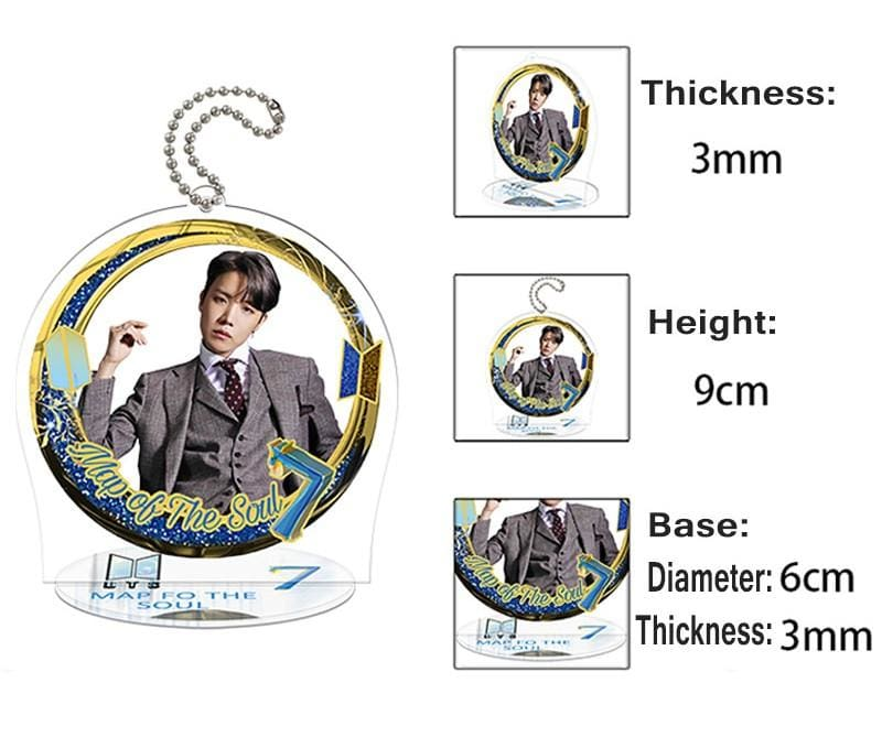 BTS Map Of The Soul: 7 Round Plaque