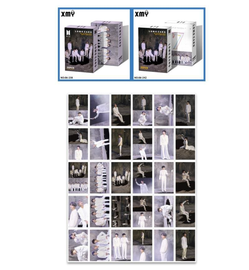 BTS Map Of The Soul: 7 Special Lomocard
