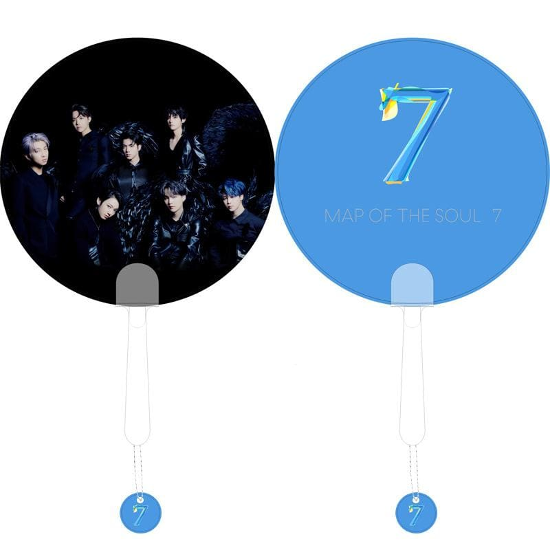BTS Map Of The Soul: 7 Hand Fan