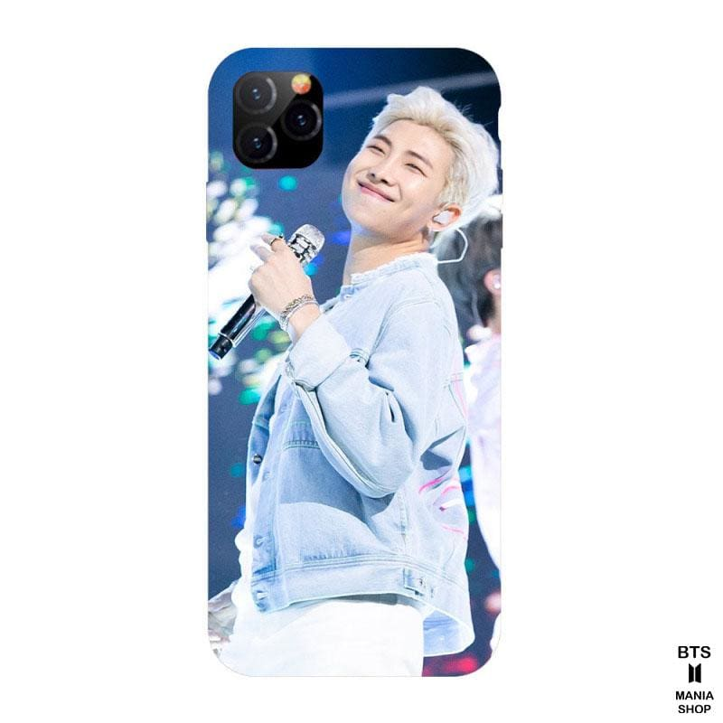 Rap Monster holding a cell phone