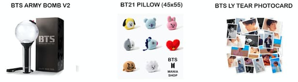 BTS OFFICIAL ARMY BOX (SET 1)
