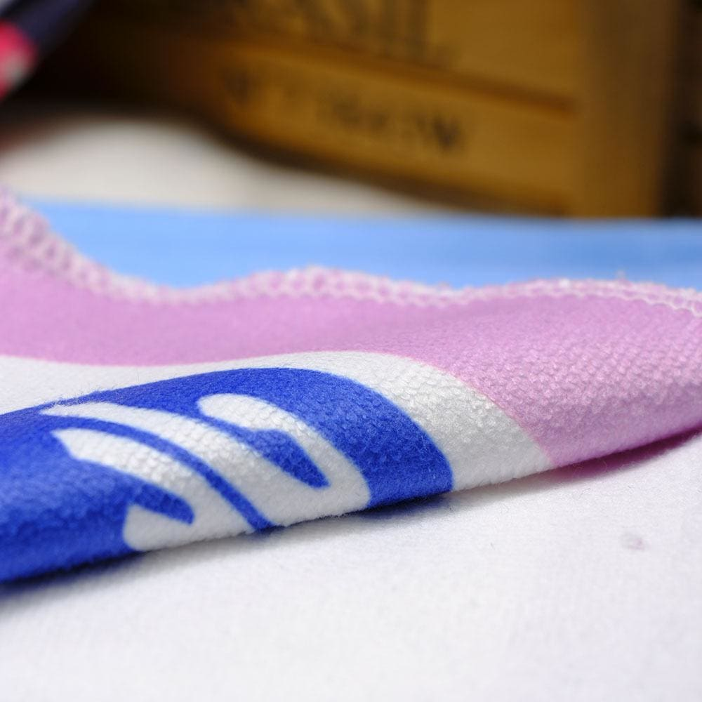 a close up of a pair of blue shoes