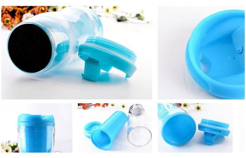 a plastic container