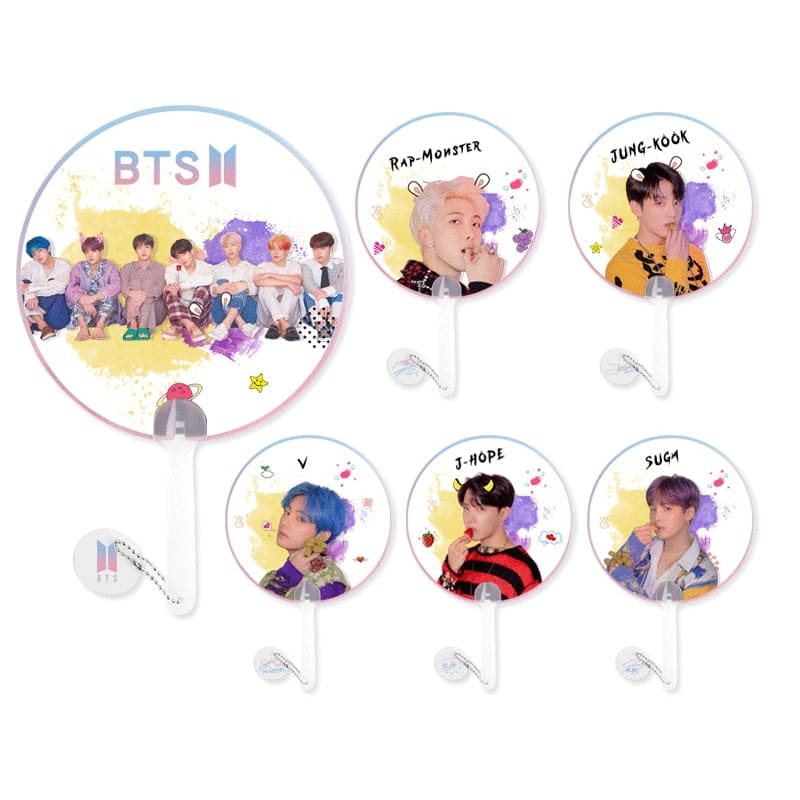 BTS Map Of The Soul Persona Member Hand Fan