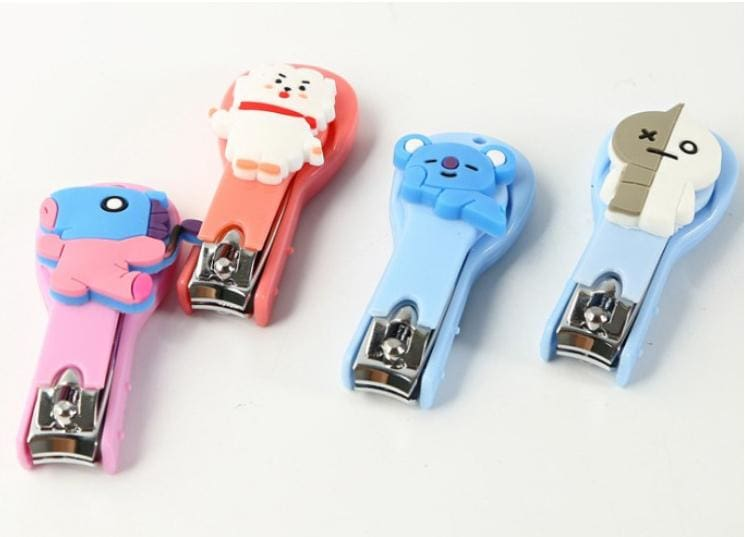 Bts Bt21 Stainless Steel Nail Clipper
