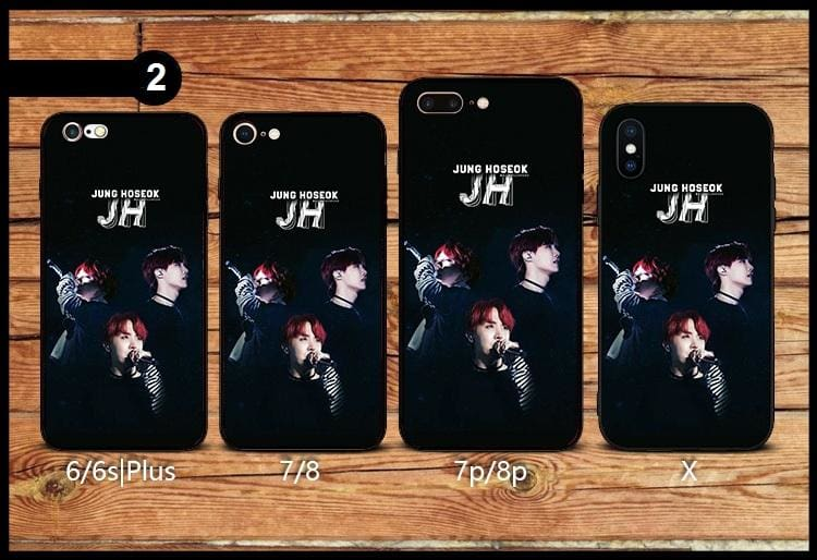 BTS Jung Hoseok Design iPhone Case