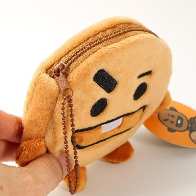 a close up of a stuffed toy