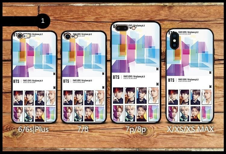 BTS Fake Love iPhone Case (with XS MAX)