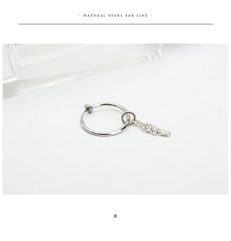 a necklace on a white background