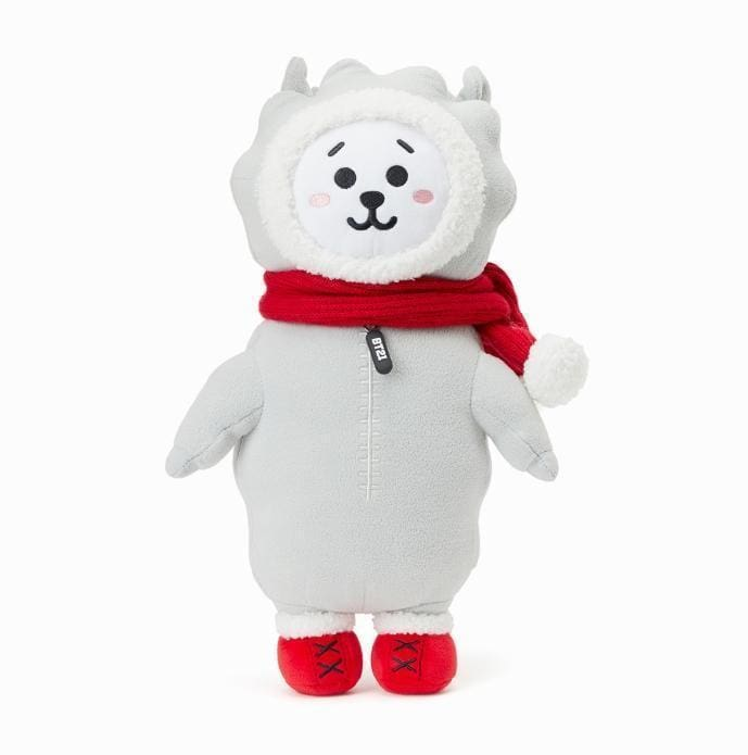 a red and white teddy bear