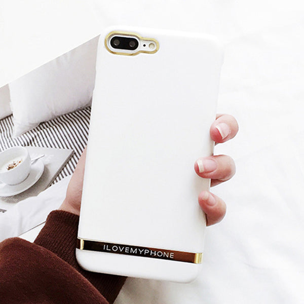 Smooth Classic Gold Lined iPhone Case