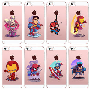Marvel/DC Comics Superhero iPhone Cases