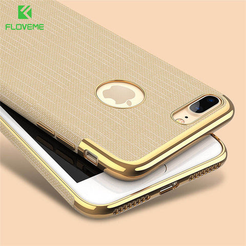Gold Detailed iPhone Case