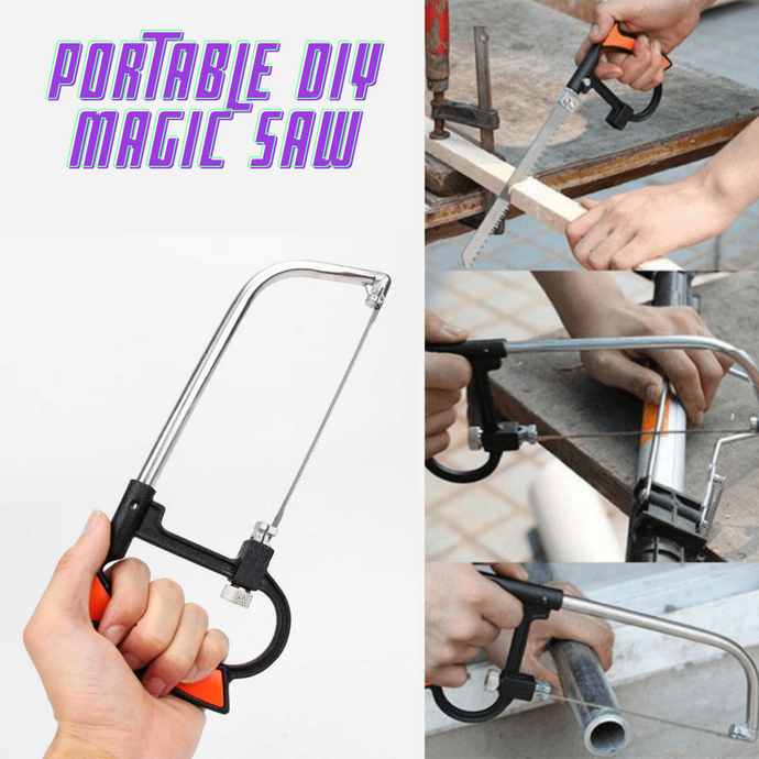 Portable DIY Magic Saw + FREE HD Vision Glasses