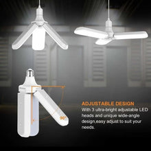 Foldable Fan Blade LED Light Bulb - - BUY 1 TAKE 1 PROMO