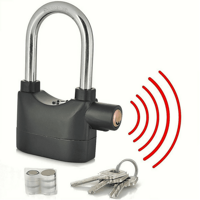 WalFine 1pc Heavy Duty Alarm Lock