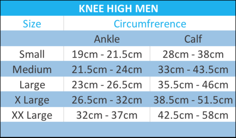 Knee high men