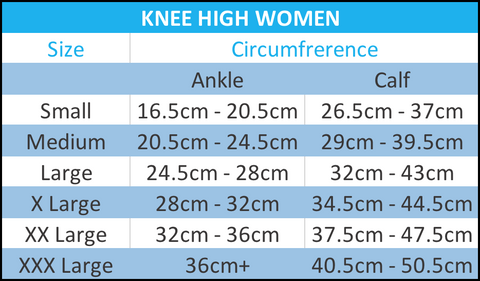 Knee high women