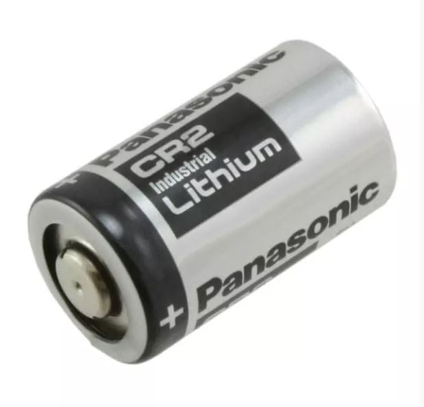 Panasonic CR2 Lithium Battery, 3 Volts