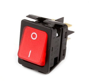 Red Lighted Switch