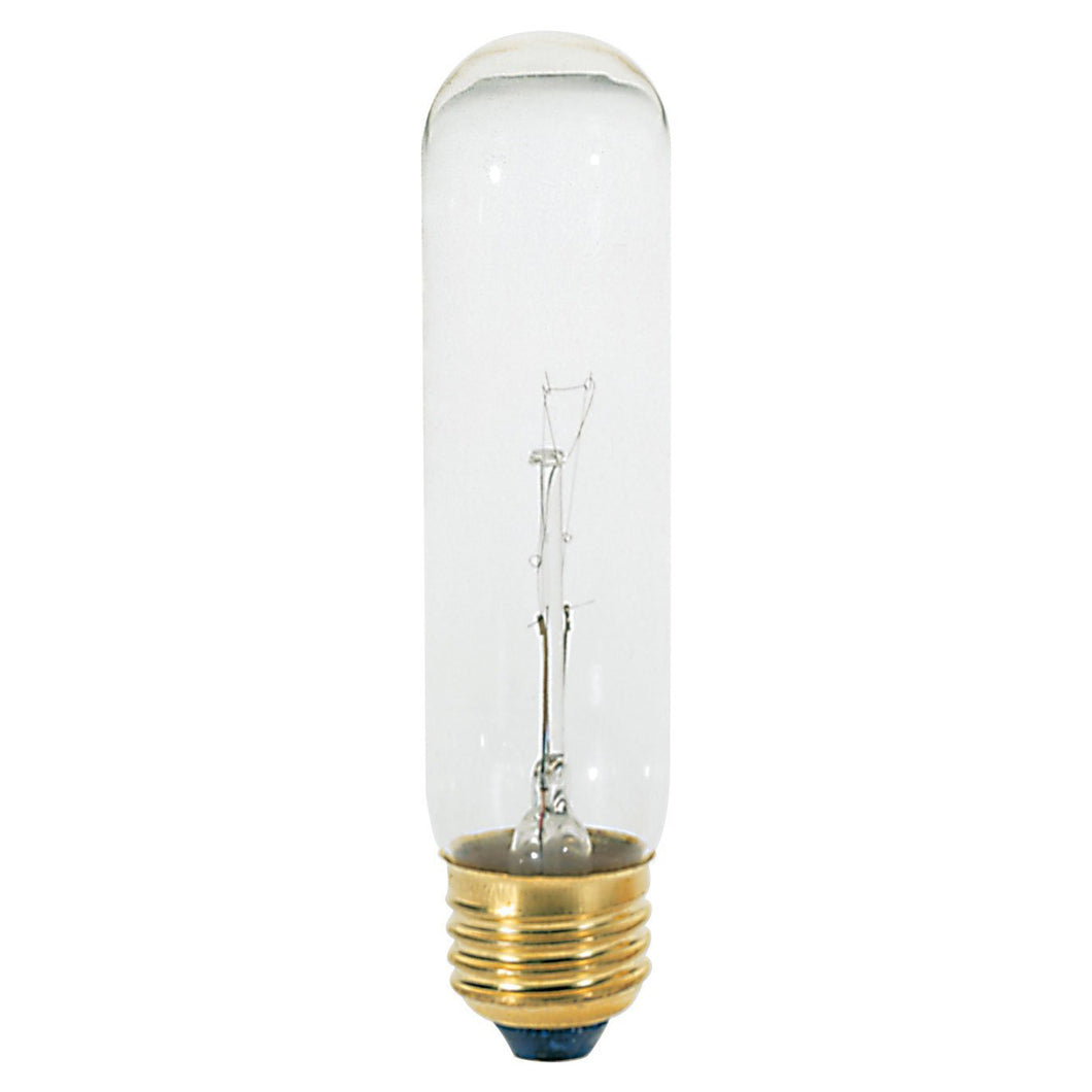 25T10 Light Bulb, 25 Watt, 130 Volt, 0.192 Amps