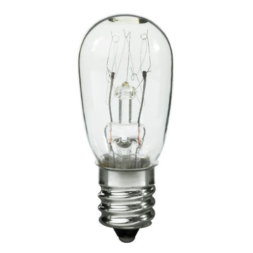 10S6-250 Light Bulb, 10 Watts, 0.04 Amps, 250 Volts