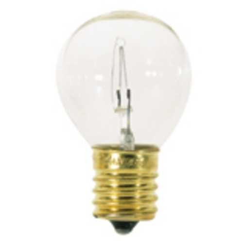 25S11N-130 Light Bulb, 25 Watts, 130 Volts