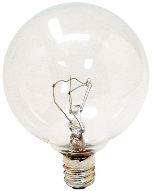 25G16.5 Light Bulb, 25 Watts, 0.192 Amps, 130 Volts