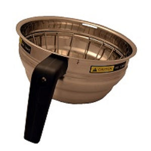 S/S Brew Basket with Black Handle and Wire Insert
