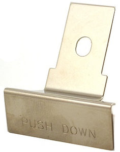 """PUSH DOWN"" Lever"