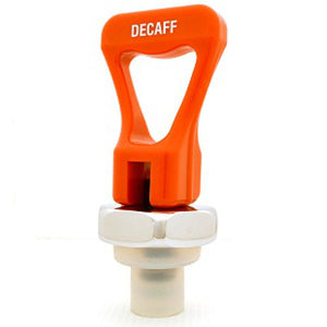 "Faucet Upper Assembly - Orange ""DECAFF"" Handle"