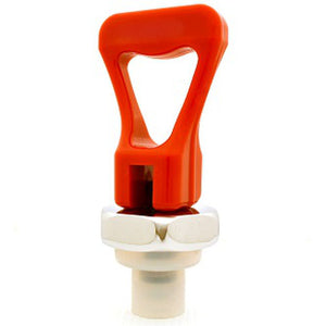 Faucet Upper Assembly - Red Handle