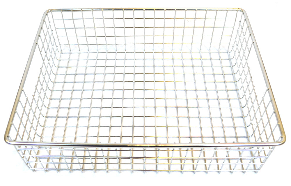 Stainless Steel Square Mesh Basket - 14