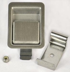 Southco 64-11-30 Paddle Latch Small Brushed Stainless Steel