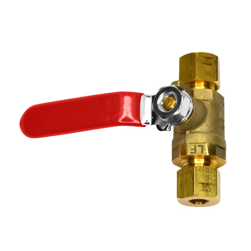 Brass Ball Valve, 1/4